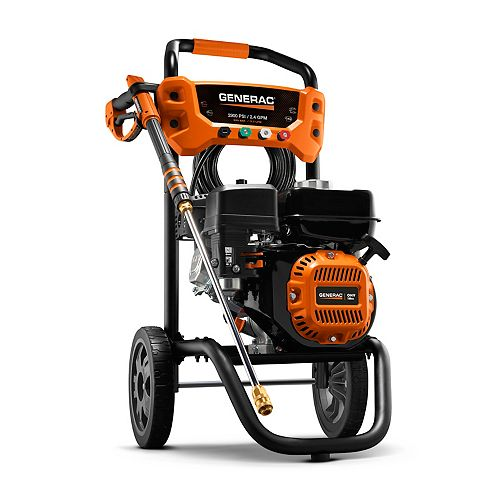 Generac 2900 PSI 2.4 GPM Residential Pressure Washer