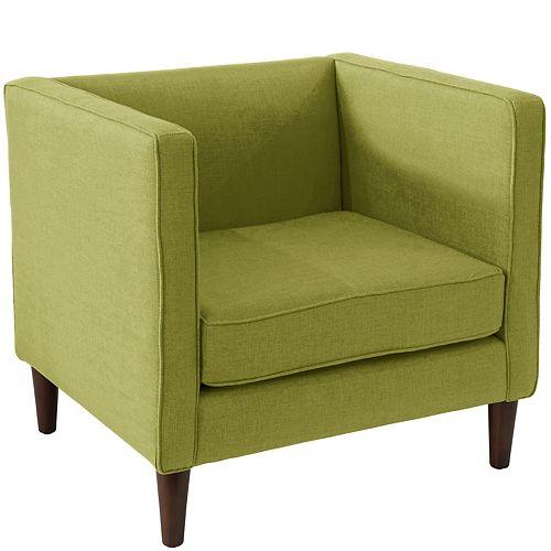 Bucktown  Arm Chair in Zuma Wasabi