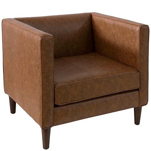 Bucktown Arm Chair in Sonoran Saddle Brown
