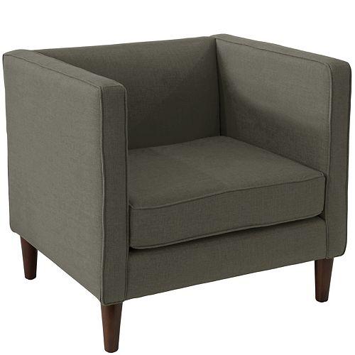 Bucktown Arm Chair in Zuma Charcoal