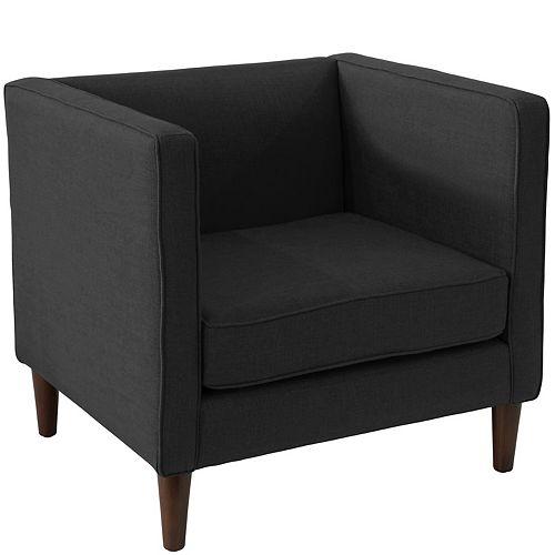 Bucktown Arm Chair in Zuma Caviar