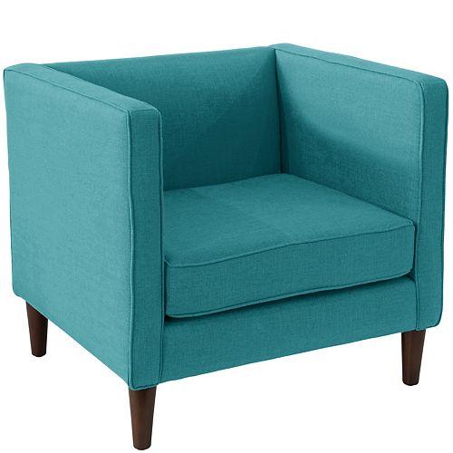 Bucktown Arm Chair in Zuma Peacock