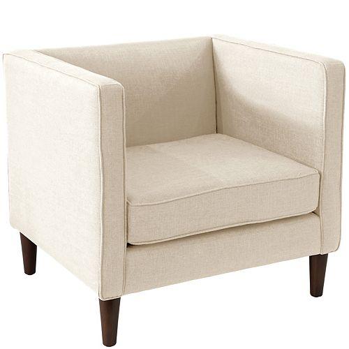 Bucktown Arm Chair in Zuma White