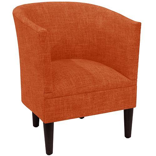 Wicker Tub Chair in Zuma Atomic