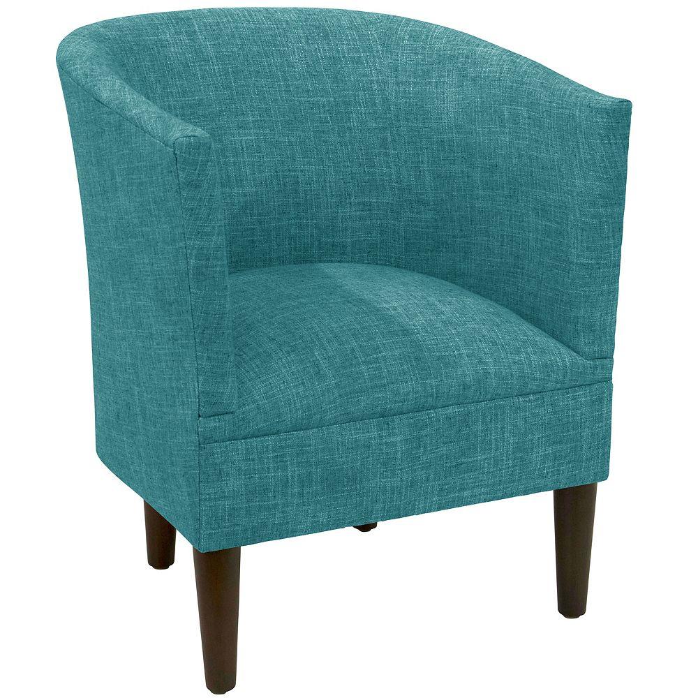 Skyline Furniture Wicker Tub Chair in Zuma Peacock
