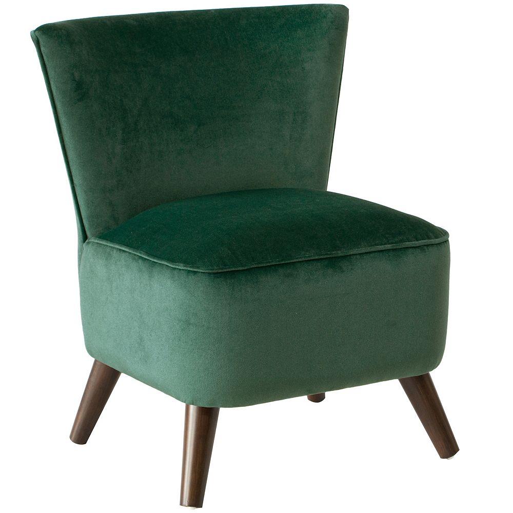 Skyline Furniture Bridgeport Chair in Mystere Jade