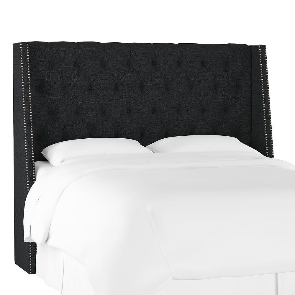 Skyline Furniture Bellevue Tête de lit california king en Linen Black