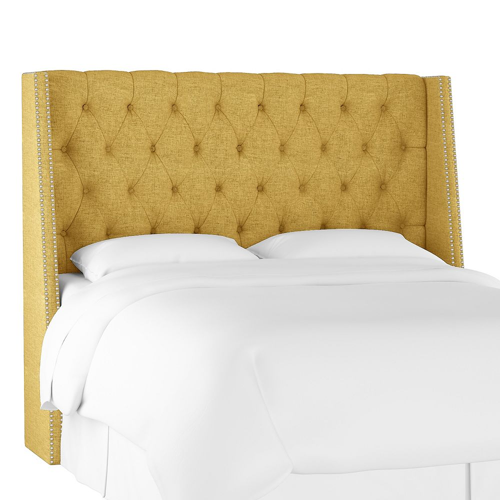Skyline Furniture Bellevue Tête de lit california king en Zuma Golden