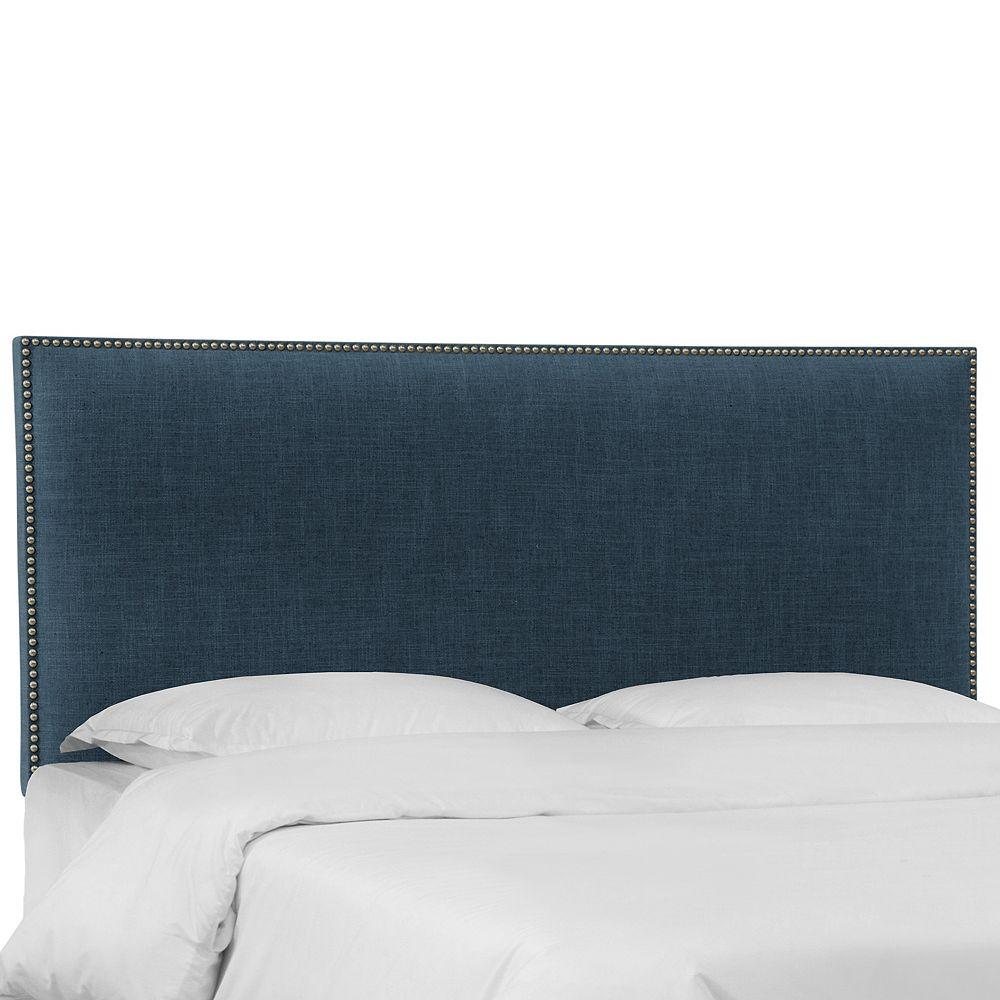Skyline Furniture Randolph Tête de lit en Zuma Navy