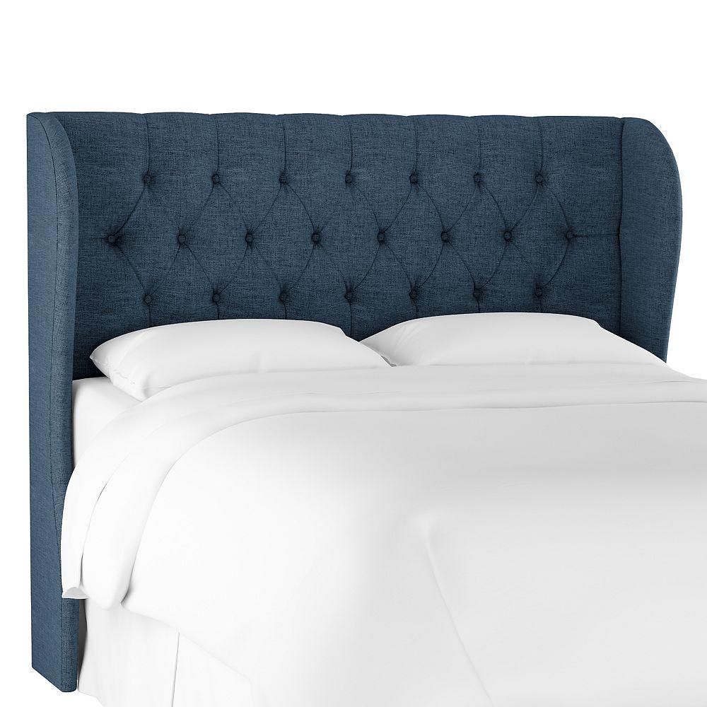 Skyline Furniture Hubbard Tête de lit california king en Zuma Navy