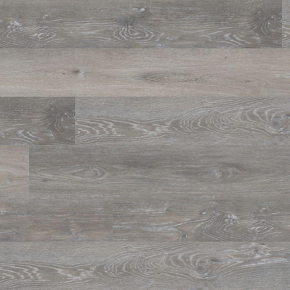 MSI Stone ULC Planches en vinyle de luxe Woodland, chêne gris, 7,13 po x 48,03 po (23,77 pi2/bte)
