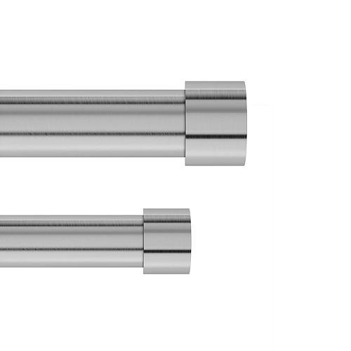 Umbra Cappa 1 Dbl  Rod 120-180 Nickel/Steel