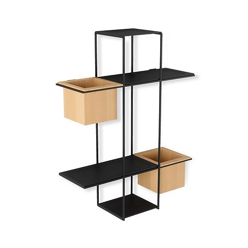 Umbra Cubist Multi Shelf Sand/Black