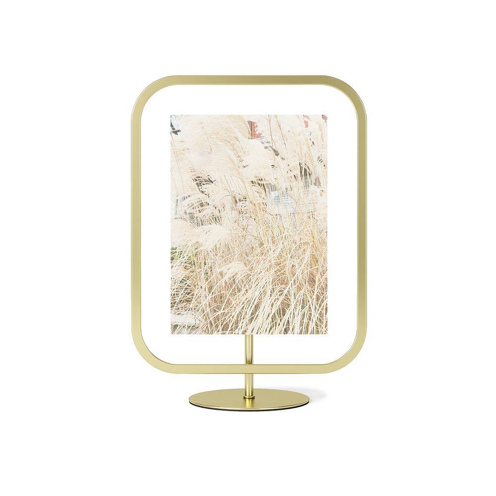 Umbra Umbra Infinity Sqround Photo Display 5X7 Matte Brass