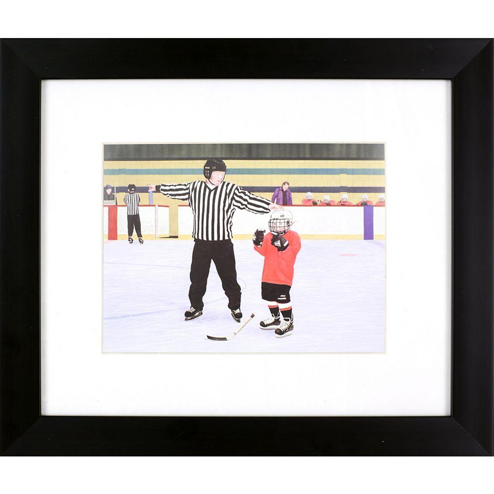 Art Maison Canada 16x13 Hockey Kids Art, Couching