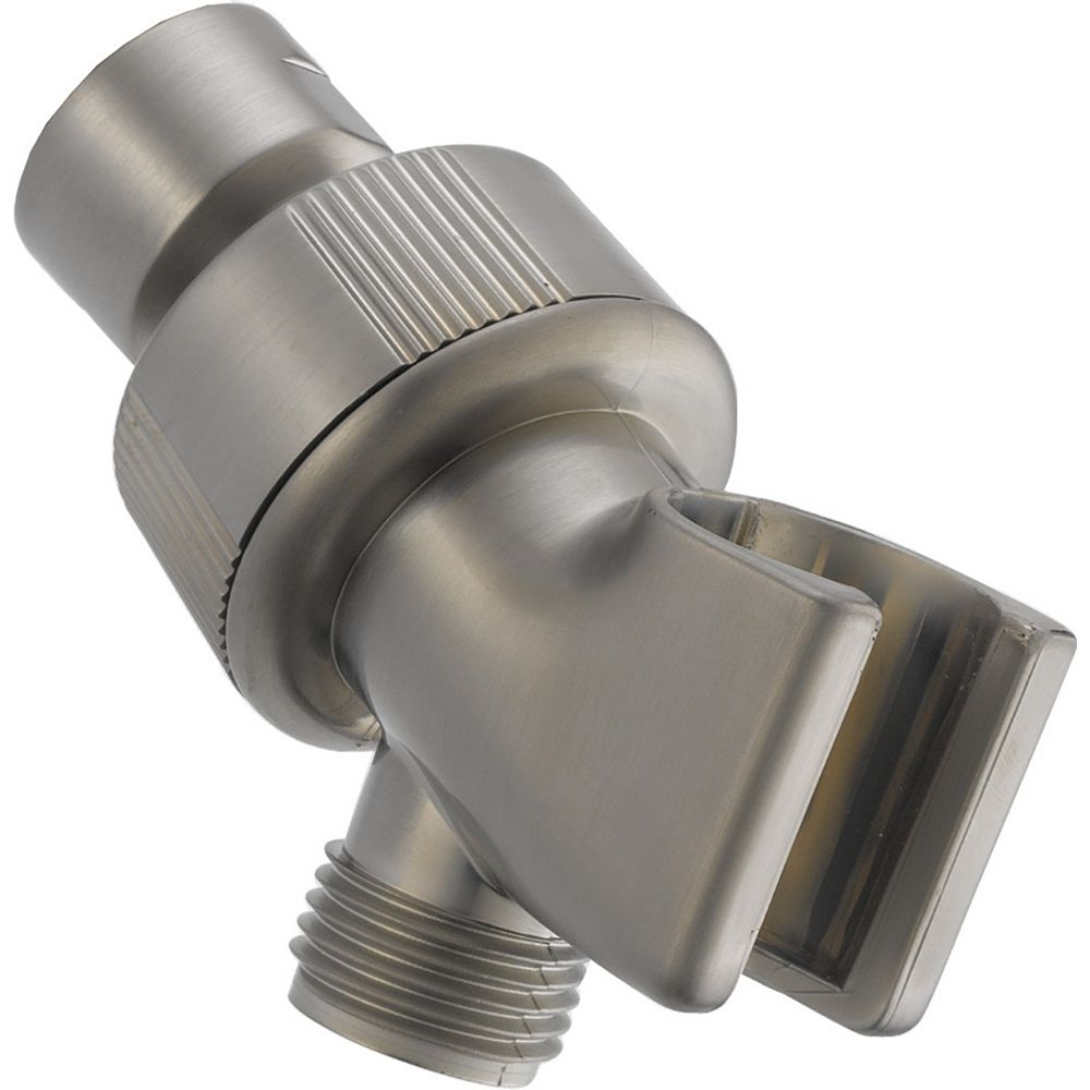 Delta Shower Arm Mount - Adjustable in Stainless Steel