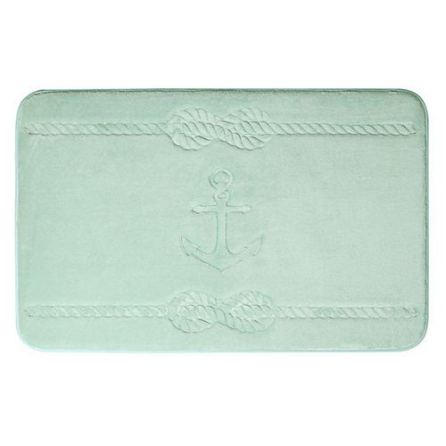 Ancre - tapis de bain en mousse viscoélastique SAUGE 43X61