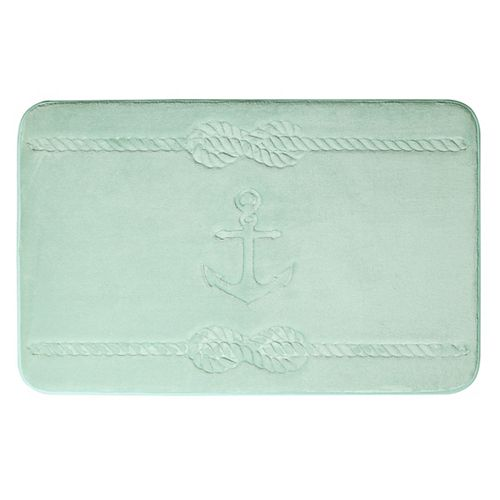 Ancre - tapis de bain en mousse viscoélastique SAUGE 51X81