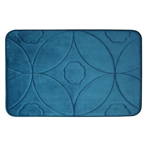 Motif en accolade - tapis de bain en mousse viscoélastique SARCEL 43X61