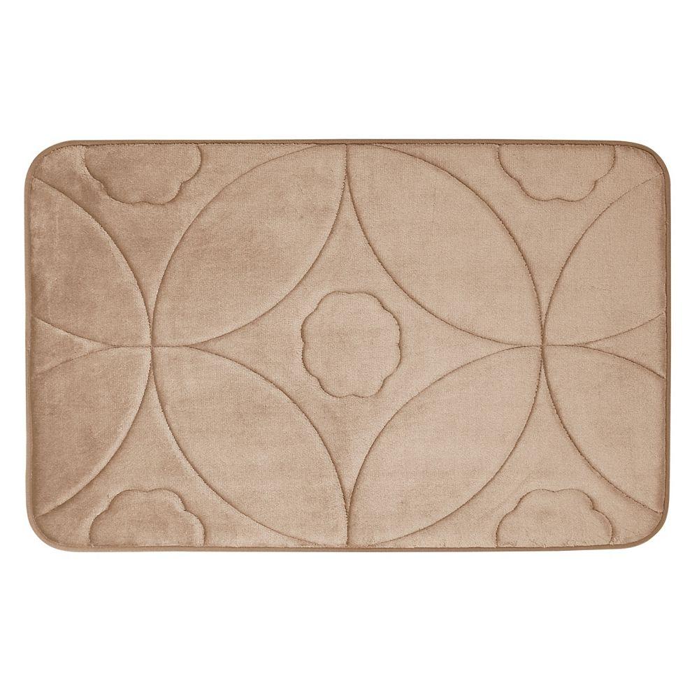 CHC Motif en accolade - tapis de bain en mousse viscoélastique TAUP 43X61