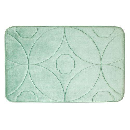 Motif en accolade - tapis de bain en mousse viscoélastique SAUGE 43X61