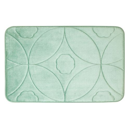 Motif en accolade - tapis de bain en mousse viscoélastique SAUGE 51X81