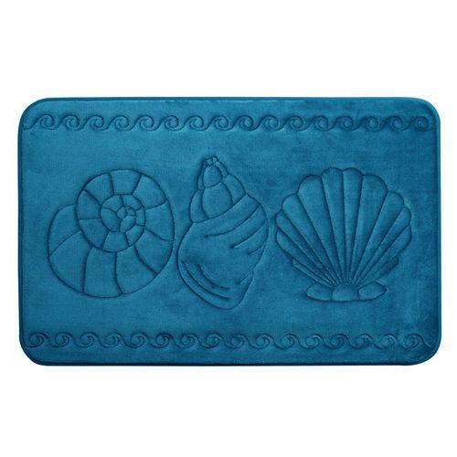 Coquillage - tapis de bain en mousse viscoélastique SARCEL 43X61