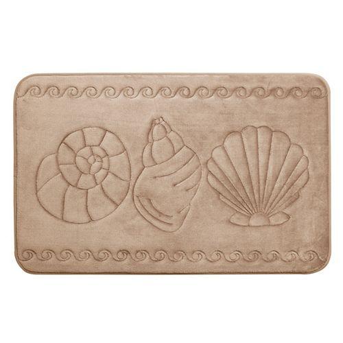 Coquillage - tapis de bain en mousse viscoélastique TAUP 51X81