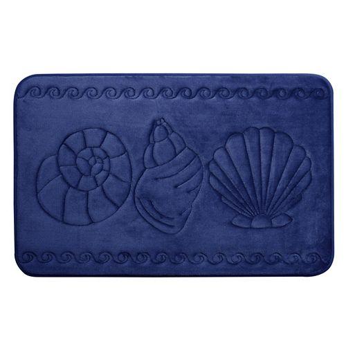 Coquillage - tapis de bain en mousse viscoélastique MARINE 43X61