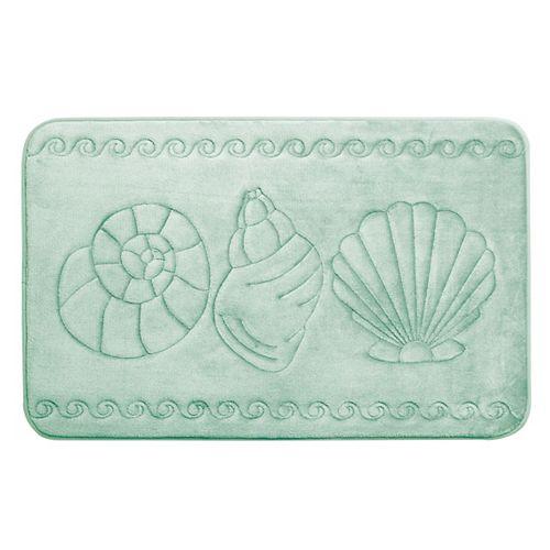 Coquillage - tapis de bain en mousse viscoélastique SAUGE 43X61