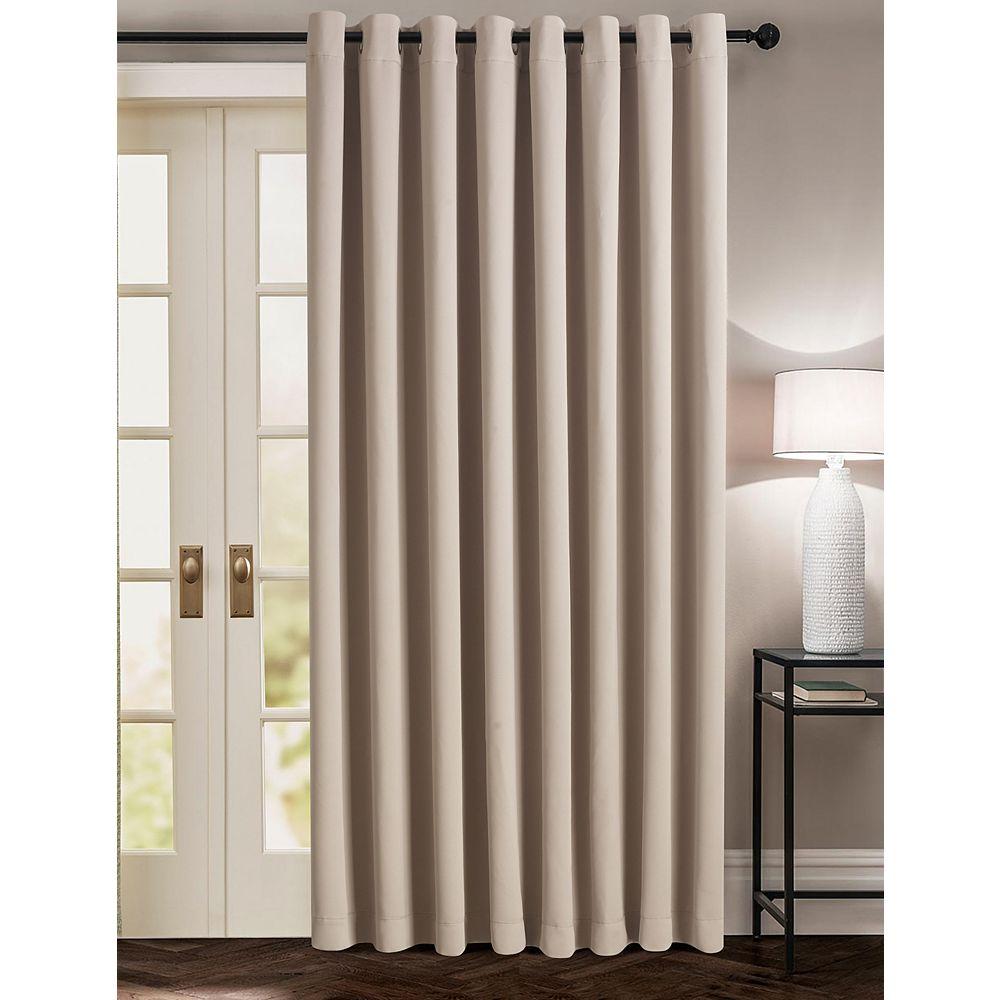 CHC Extra-Wide Patio Door Window Panel STONE 100X84