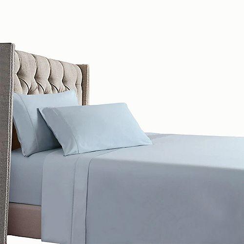 Home Depot Cool & Comfy 400 Thread Count 100% Long-Staple Cotton Sateen Bedding Sheet Set