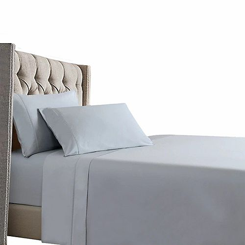 Cool & Comfy 400 Thread Count 100% Long-Staple Cotton Sateen Bedding Sheet Set
