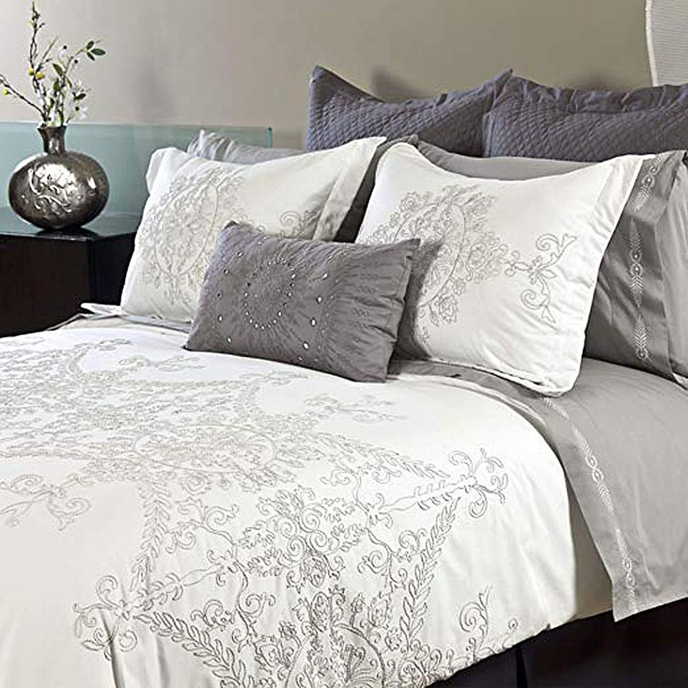 New Season Home 100% Cotton 300 TC Fabric with Lightweight 3 PCs Duvet Cover Set King