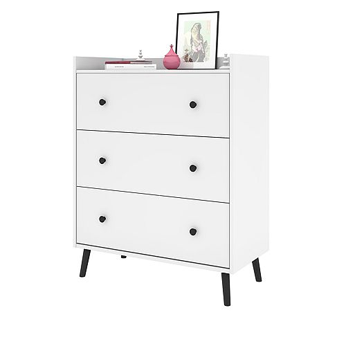 Bestar Mira Commode - Blanc