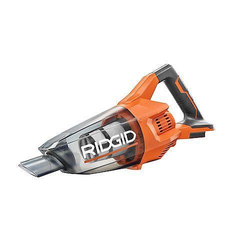 RIDGID 18V Cordless Compact Vacuum (Tool-Only)