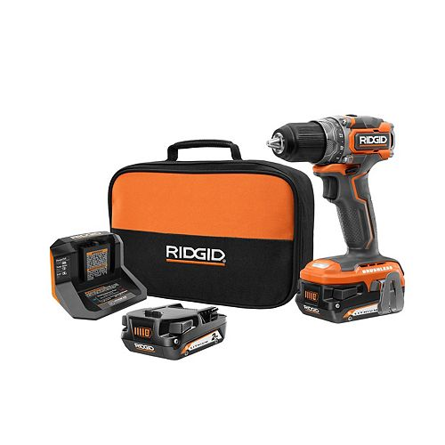 18V Brushless Cordless Sub-Compact 1/2-inch Drill/Driver Kit with (2) 2.0 Ah Batteries and Charger