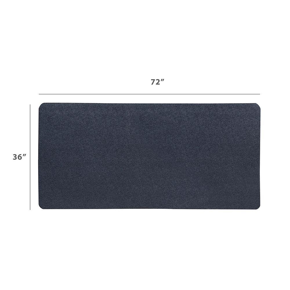 Dimex MotionTex 36-inch X 72-inch Black Mat