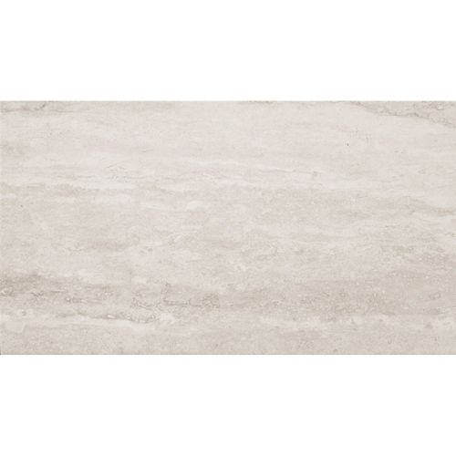 Mono Serra Group Euro Lucca White 12-inch x 24-inch Porcelain Floor and Wall Tile (16.68 sq. ft. / case)