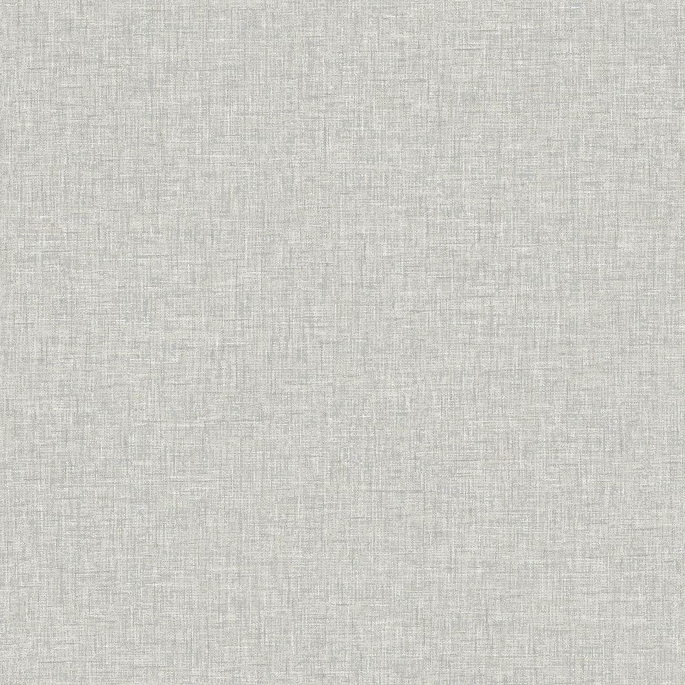 Arthouse Light Grey Linen Textures Wallpaper