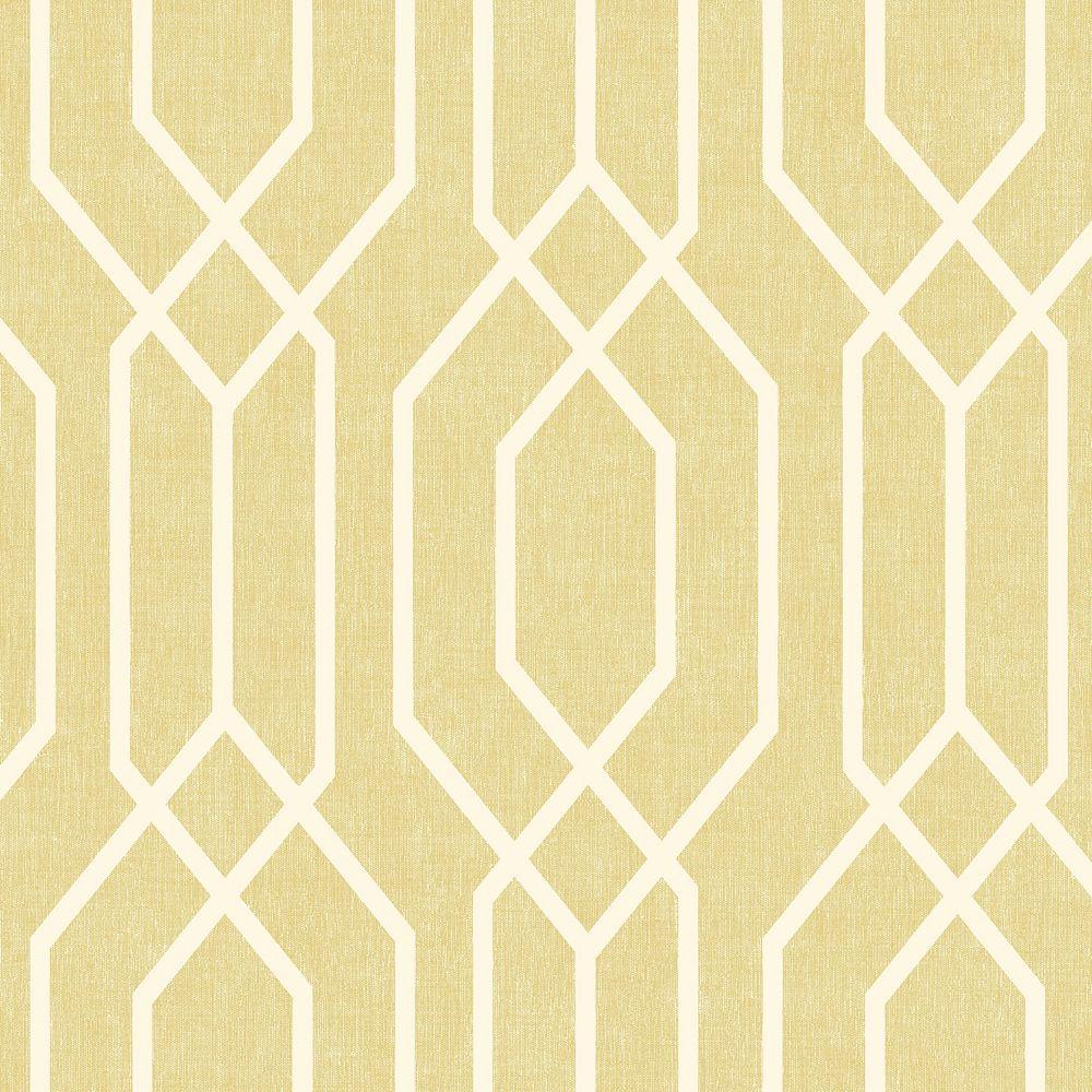 Arthouse New York Geo Yellow Wallpaper
