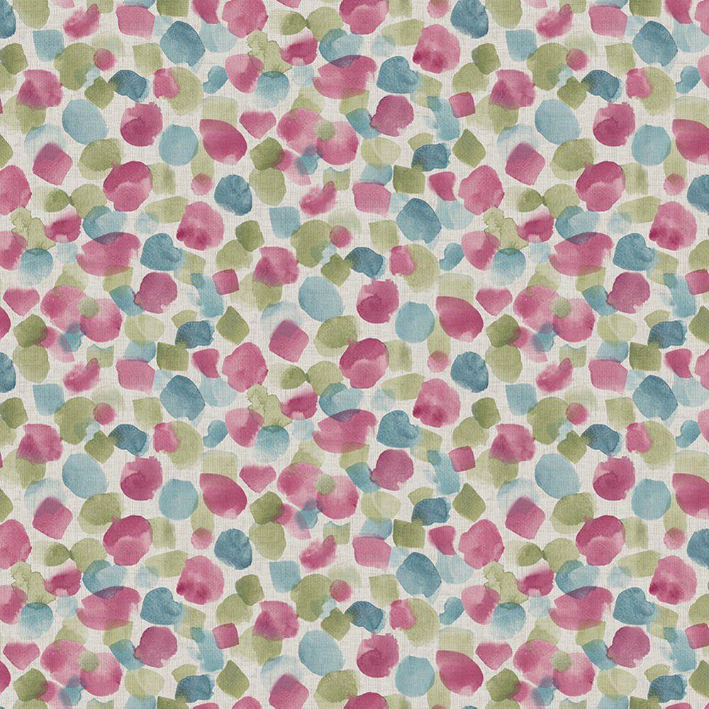 Arthouse Painted Dot Raspberry Wallpaper