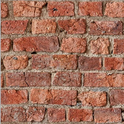 Urban Brick Red Wallpaper