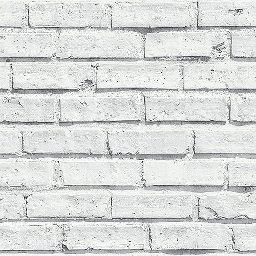 Urban Check Grey Non-Woven Wallpaper
