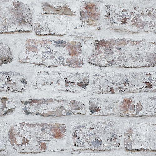 Urban Check Rust Non-Woven Wallpaper