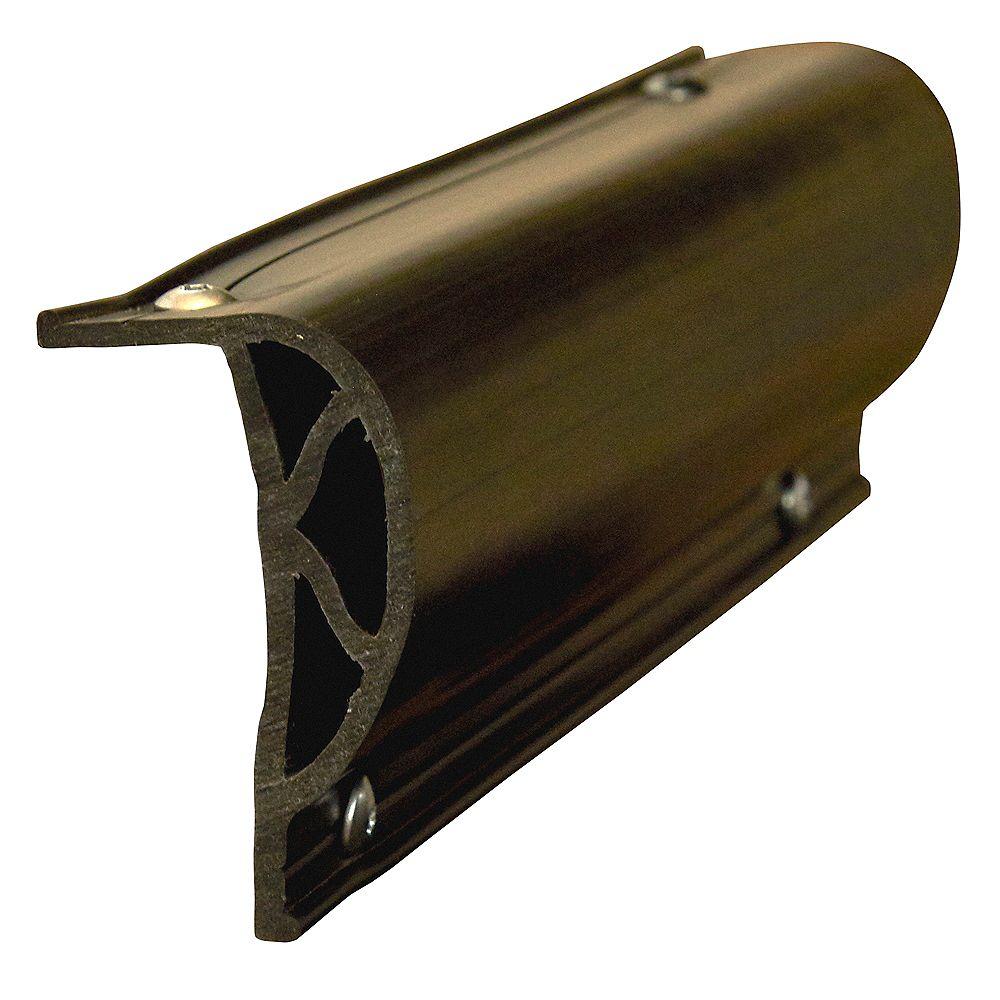 Dock Edge Heavy Slant p Profile, (3) 8ft, BK