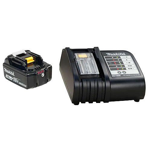 18V (3.0 Ah) Li-Ion Battery & Charger Kit
