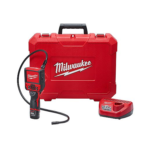 Milwaukee Tool M12 12V Li-Ion sans fil M-SPECTOR FLEX 3 ft. Kit caméra d'inspection avec (1) 1.5Ah Batterie