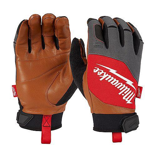 X-Large Goatskin Leather Performance Work Gloves