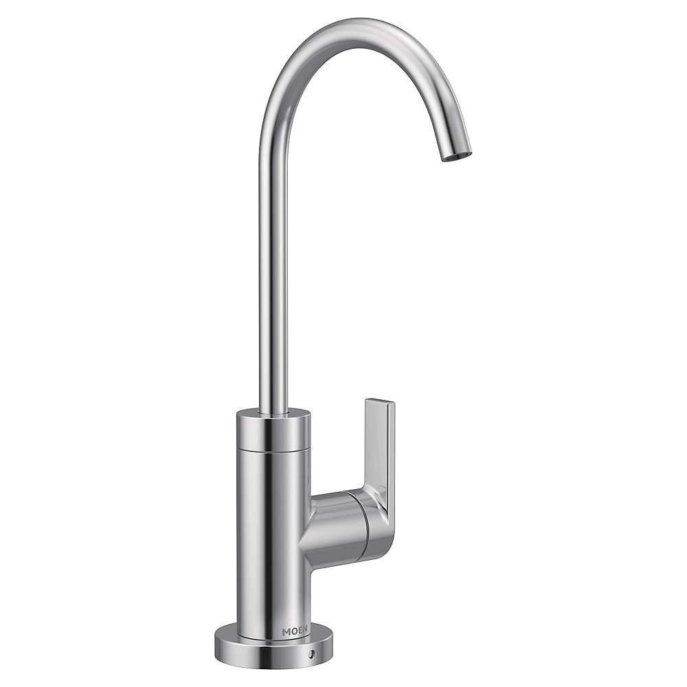 MOEN Sip Single-Handle High Arc Modern Filtered Beverage Faucet In Chrome